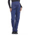 Photograph of Workwear WW Professionals Women's Maternity Straight Leg Pant Blue WW220-NAV