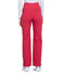 Photograph of Workwear WW Professionals Women's Maternity Straight Leg Pant Red WW220-RED