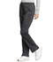 Photograph of WW Revolution Tech Women's Mid Rise Straight Leg Drawstring Pant Gray WW235AB-PWT