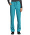 Photograph of WW Revolution Tech Women Mid Rise Straight Leg Drawstring Pant Blue WW235AB-TLB