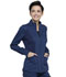 Photograph of WW Revolution Women's Zip Front High-Low Jacket Blue WW301-NAV