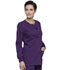 Photograph of Workwear WW Professionals Women Snap Front Jacket Purple WW340-EGG