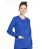 Photograph of Workwear WW Professionals Women Snap Front Jacket Blue WW340-GAB