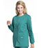 Photograph of Workwear WW Professionals Women Snap Front Jacket Green WW340-HUN