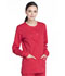 Photograph of Workwear WW Professionals Women Snap Front Jacket Red WW340-RED