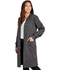 Photograph of WW Revolution Tech Unisex Unisex 40 Snap Front Lab Coat Gray WW350AB-PWT