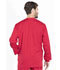 Photograph of WW Professionals Men's Men's Warm-up Jacket Red WW360-RED