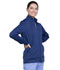 Photograph of WW Revolution Unisex Unisex Zip Front Knit Jacket Blue WW370-NAV