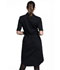 Photograph of Workwear WW Professionals Women's Button Front Dress Black WW500-BLK