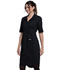 Photograph of Workwear WW Professionals Women Button Front Dress Black WW500-BLK
