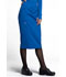 Photograph of Workwear WW Professionals Women's 30 Knit Waistband Skirt Blue WW510-ROY
