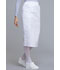 Photograph of WW Professionals Women's 30 Knit Waistband Skirt White WW510-WHT