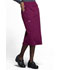 Photograph of Workwear WW Professionals Women 30 Knit Waistband Skirt Red WW510-WIN