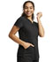 Photograph of WW Revolution Women's V-Neck Top Black WW601-BLK