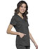 Photograph of WW Revolution Women's V-Neck Top Gray WW601-PWT