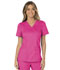 Photograph of WW Revolution Women's Mock Wrap Top Pink WW610-EEPI
