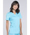 Photograph of WW Revolution Women's V-Neck Top Blue WW620-TRQ