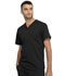 Photograph of WW Revolution Unisex Unisex 1 Pocket V-Neck Top Black WW625-BLK