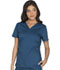 Photograph of WW Core Stretch Women's V-Neck Top Blue WW630-CARW