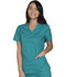 Photograph of WW Core Stretch Women's V-Neck Top Green WW630-TLBW