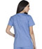 Photograph of WW Core Stretch Women's Mock Wrap Top Blue WW640-CIEW