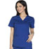 Photograph of WW Core Stretch Women's Mock Wrap Top Blue WW640-GABW