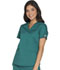 Photograph of WW Core Stretch Women's Mock Wrap Top Green WW640-HUNW