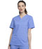Photograph of Workwear WW Professionals Unisex Unisex V-Neck Top Blue WW644-CIE