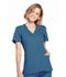 Photograph of WW Originals Women's Mock Wrap Top Blue WW650-CARW