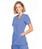 Photograph of WW Originals Women's Mock Wrap Top Blue WW650-CIEW