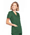 Photograph of WW Originals Women's Mock Wrap Top Green WW650-HUNW