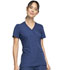 Photograph of WW Originals Women's Mock Wrap Top Blue WW650-NAVW