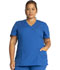 Photograph of WW Originals Women's Mock Wrap Top Blue WW650-ROYW