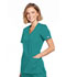 Photograph of WW Originals Women's Mock Wrap Top Green WW650-TLBW
