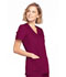 Photograph of WW Originals Women's Mock Wrap Top Purple WW650-WINW