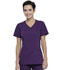 Photograph of Workwear WW Professionals Women's Mock Wrap Top Purple WW655-EGG