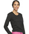 Photograph of WW Core Stretch Women's Long Sleeve Underscrub Knit Tee Black WW660-BLK