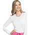 Photograph of WW Core Stretch Women's Long Sleeve Underscrub Knit Tee White WW660-WHT