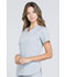 Photograph of Workwear WW Professionals Women V-Neck Top Gray WW665-GRY