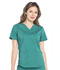 Photograph of Workwear WW Professionals Women's V-Neck Top Green WW665-HUN