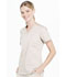 Photograph of WW Professionals Women's V-Neck Top Brown WW665-KAK