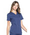 Photograph of Workwear WW Professionals Women V-Neck Top Blue WW665-NAV