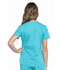 Photograph of WW Professionals Women's V-Neck Top Blue WW665-TLB