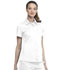 Photograph of WW Revolution Women's Hidden Snap Front Collar Shirt White WW669-WHT