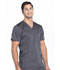 Photograph of WW Revolution Men's Men's V-Neck Top Gray WW670-PWT