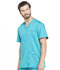 Photograph of WW Revolution Men's Men's V-Neck Top Blue WW670-TLB
