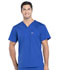 Photograph of Workwear WW Professionals Men Men's V-Neck Top Blue WW675-GAB