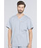Photograph of WW Professionals Men's Men's V-Neck Top Gray WW675-GRY