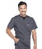 Photograph of WW Professionals Men's Men's V-Neck Top Gray WW675-PWT