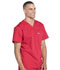 Photograph of Workwear WW Professionals Men Men's V-Neck Top Red WW675-RED